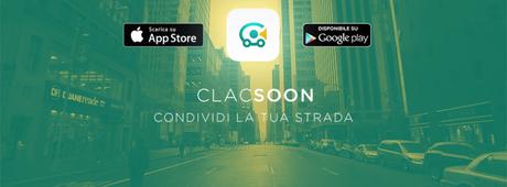 Car pooling: nasce Clacsoon la nuova app che contribuisce alla riduzione di CO2