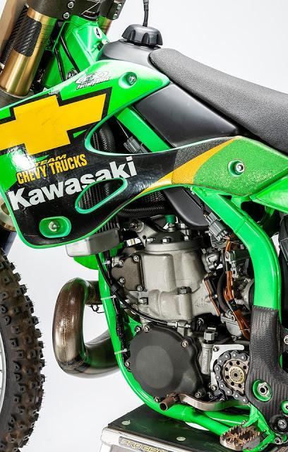 Kawasaki KX 250 SR R.Carmichael - Supercross 2001