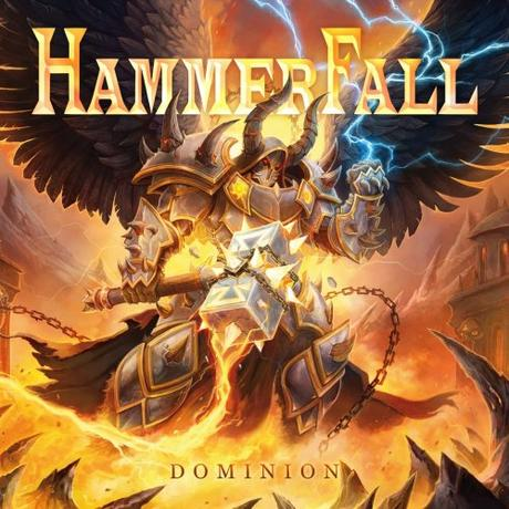 Chitarristi platinati con grossi martelli: HAMMERFALL – Dominion