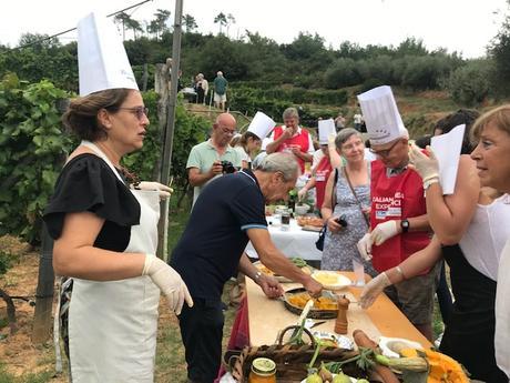 Jazzisti e sommelier e prodotti della Valle Arroscia a food jazz wine