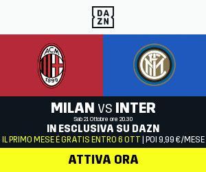 DAZN Serie A 4a Giornata, Diretta Esclusiva | Palinsesto e Telecronisti (anche Sky 209)