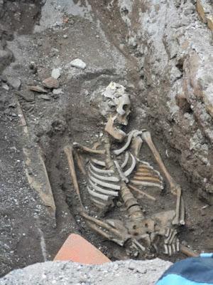 Roma, rinvenuto uno scheletro nei pressi della stazione della metro