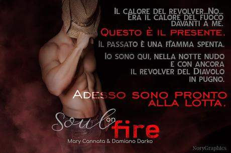 Segnalazione:  Soul on Fire  di  Damiano Darko  e  Mary Cannata