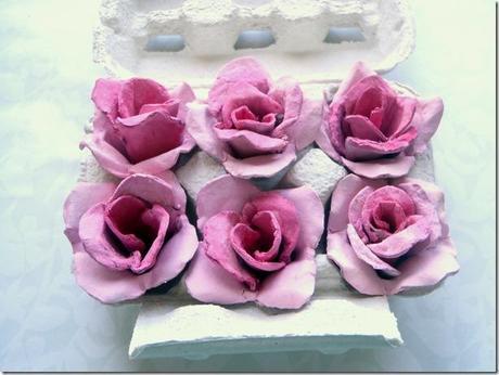 Tutorial rose con il cartone delle uova ricic l 3wuq13