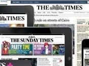 Times Sunday Times, paywall sfonda quota 100mila abbonati