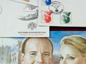 Foto giorno luglio 2011 francobolli commemorazione matrimonio alberto monaco charlene