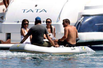 Marbella: Eduardo Cruz e Eva Longoria da casalinga disperata a natante spiaggiata!