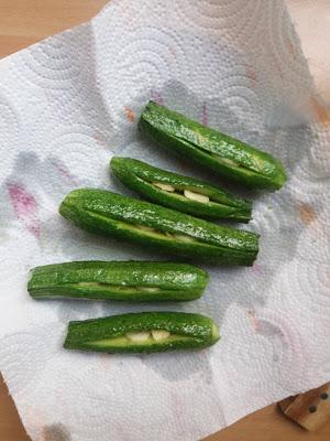 spezzatino con zucchine / kokkinisto me kolokythakia