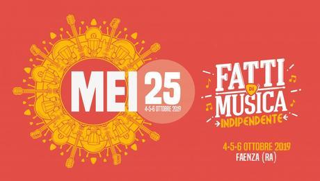 Faenza:  MEI25 il 4, 5 e 6 ottobre 2019