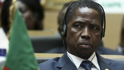 Risultati immagini per presidente lungu zambia
