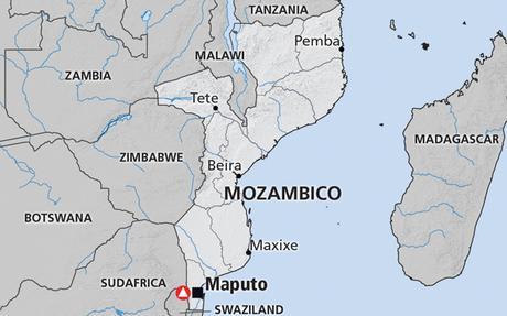 Risultati immagini per mozambico cartina