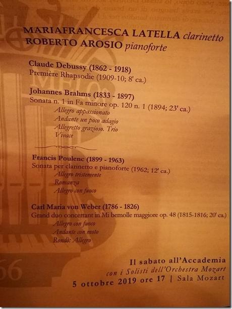Il Sabato all'Accademia - Latella, Arosio 1
