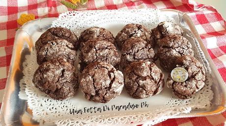 Biscotti Increspati (Crinkle) Al Cacao Vegan