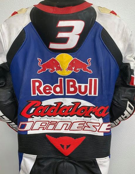 Dainese Racing Suit Luca Cadalora Team RedBull WCM Yamaha 1997