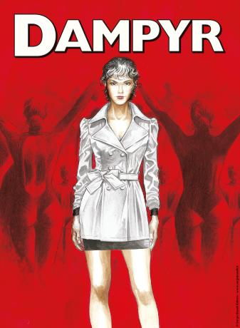 Dampyr: una cover lenticolare e