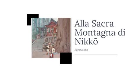 Alla Sacra Montagna di Nikkō – Pierre Loti