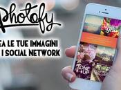 Crea immagini social network Photofy