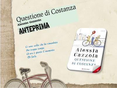 QUESTIONE DI COSTANZA DI ALESSIA GAZZOLA ANTEPRIMA