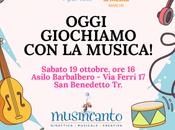 """Michele tutti """"Oggi giochiamo musica!"""" Evento Nati Musica bambini speciali"""