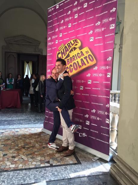 Charlie e la Fabbrica di Cioccolato a Milano per la prima volta. Video e news