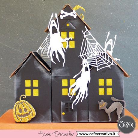 Casa stregata per Halloween – Sizzix Big Shot