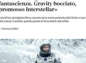 fisica insegnata film fantascienza. Gravity bocciato, promosso Interstellar»