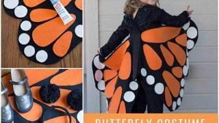 Farfalla (senza cucire!)
