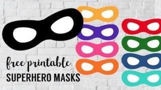 Maschere da supereroe