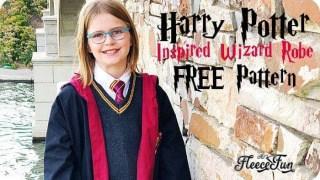 Mantello da Harry Potter (cartamodello gratuito)