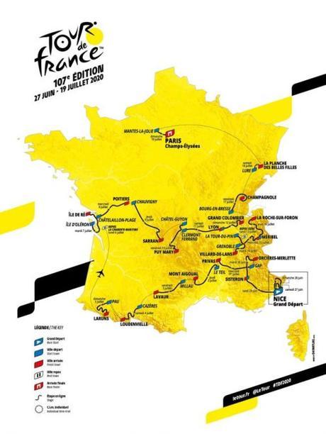 Presentato il Tour de France 2020