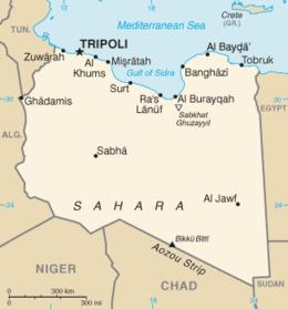 Risultati immagini per libia cartina politica
