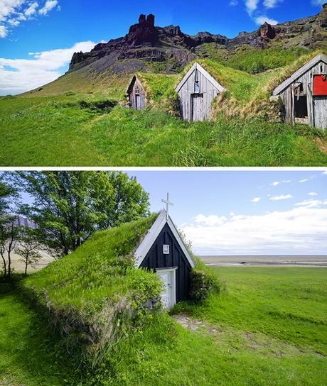 Islanda: le case con il tetto di erba e le 6 località da vedere