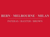 PATERAS BAXTER BROWN, Bern Melbourne Milan