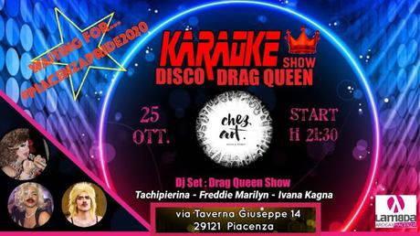 Disco Drag Queen - serata 25/10/19
