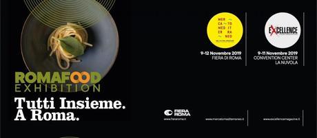 Roma Food Exhibition, tutti insieme per un grande evento dedicato all'enogastronomia