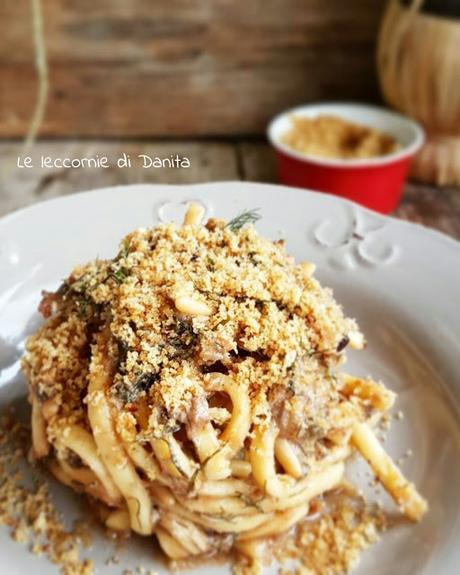 Pasta con le sarde (pasta chi sardi)