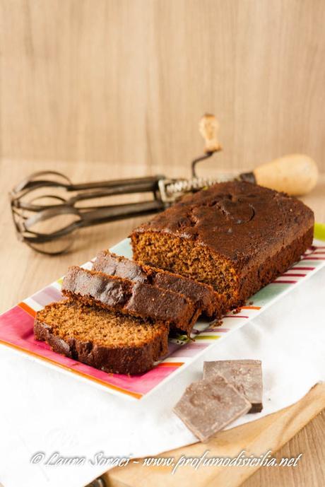 Una deliziosa ricetta del Maestro della Pasticceria Italiana Iginio Massari il Plumcake al Cioccolato Fondente
