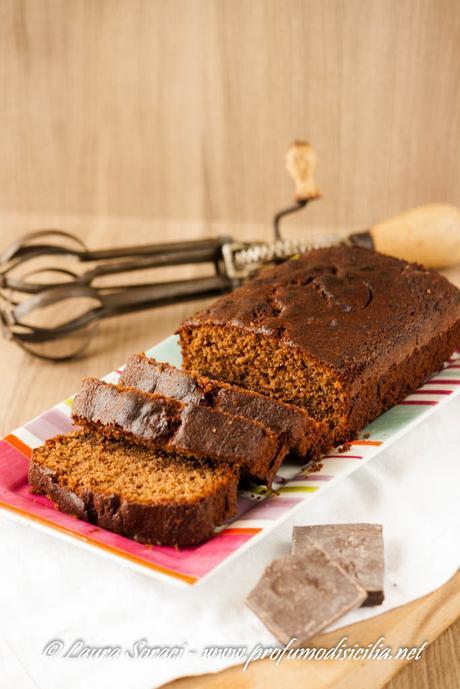 PlumCake al Cioccolato Fondente di Iginio Massari
