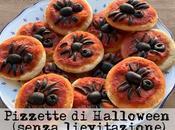 Ricette Halloween bambini: pizzette ragno veloci (senza lievitazione)