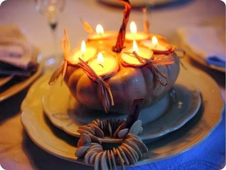 Come decorare la tavola di Halloween con la magia della zucca.