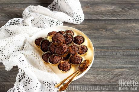Brigadeiros, tartufi al cioccolato