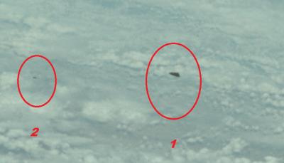 Oggetto triangolare sconosciuto in una foto della NASA durante la Missione Apollo 9 ?