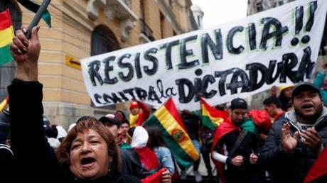 Bolivia :ancora forti tensioni nel Paese dopo l'incendio ad Oruro alla casa della sorella di Morales