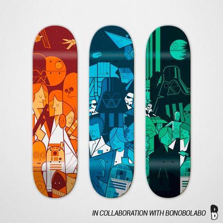 TRILOGY skateboard _ Ale Giorgini