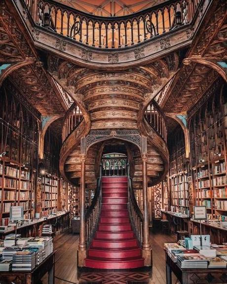 steampunktendencies:LIvraria Lello, a bookshop in Porto,...