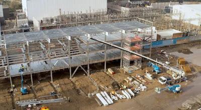 AFC Wimbledon, l'avanzamento dei lavori al nuovo stadio. Nov 2019 -  Drone view(Video)