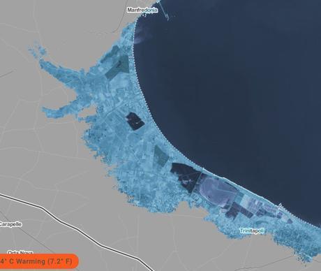 Cosa succederebbe alle coste del Gargano se la temperatura aumentasse?