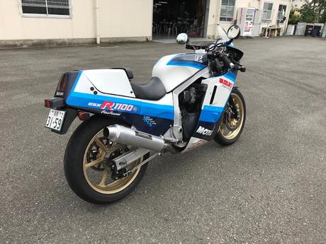 Suzuki GSX-R 1100 by Bright Logic