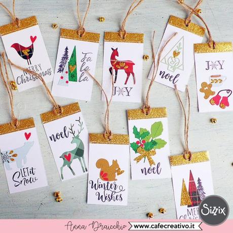 Natale fatto a mano | Etichette di Natale personalizzate