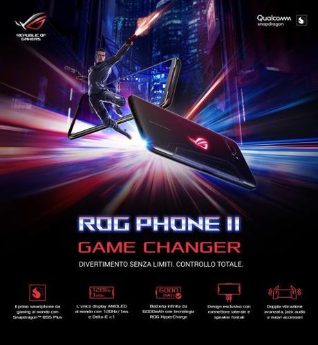 Asus, in arrivo due nuove versione del ROG Phone II